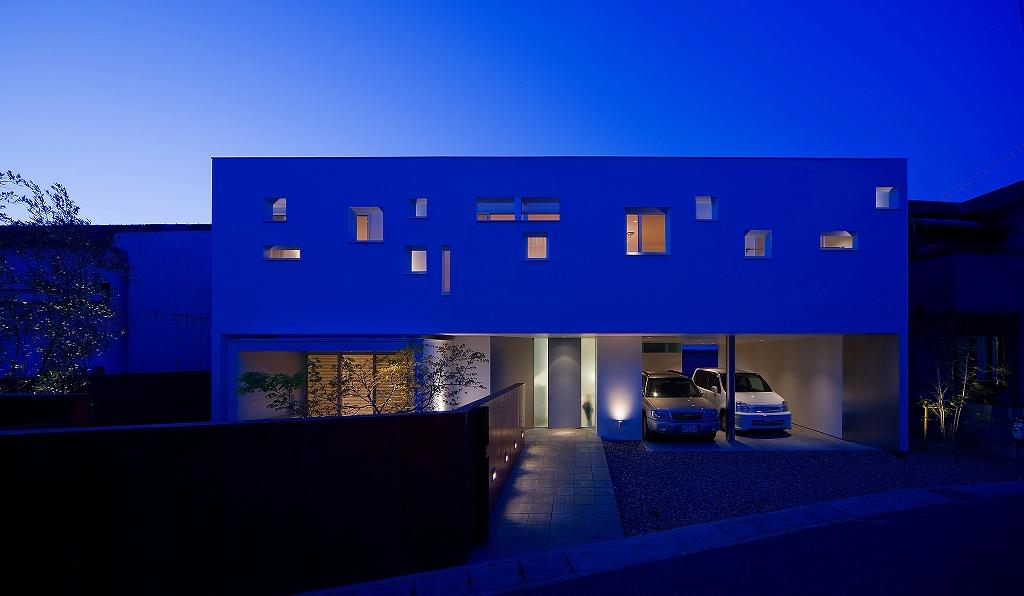 岡山の建築家のデザイン住宅3