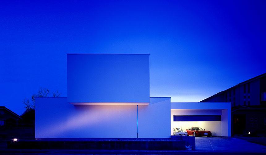 岡山の建築家のデザイン住宅6