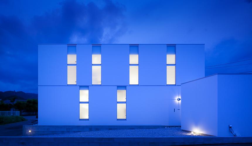 岡山の建築家のデザイン住宅8